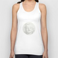Optical Illusions - Iconical People 2 Unisex Tank Top