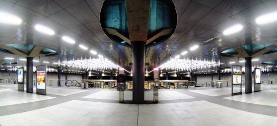 main station, berlin III. Art Print