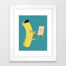 Macaroni Art Framed Art Print
