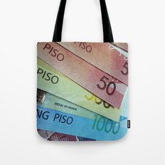 Philippine Cash Tote Bag