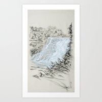 Local Gem # 6 - Ithaca F… Art Print