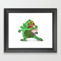 Monstruoso Framed Art Print