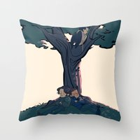 Lay Your Weary Head To R… Throw Pillow