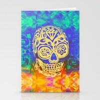 Romancing the Skull Stationery Cards