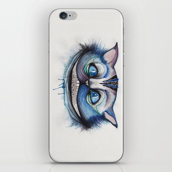 Cheshire Cat Grin - Alice in Wonderland iPhone & iPod Skin