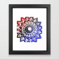 Roller Coaster Duo Framed Art Print