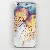 Shock Therapy/Jelly Fish iPhone & iPod Skin