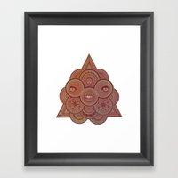Euclidean Perfection Framed Art Print