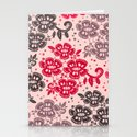 Floral Pattern #15 Stationery Cards