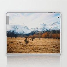 Peaceful New Zealand mountain landscape Laptop & iPad Skin