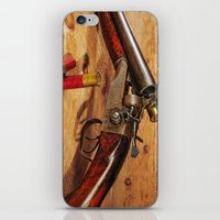 Old Double Barrel Steven… iPhone & iPod Skin