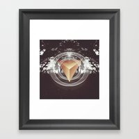 Somewhere In The Darknes… Framed Art Print