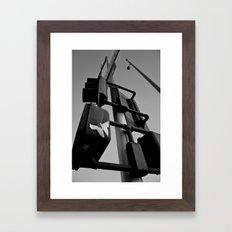 Totem Pole Framed Art Print