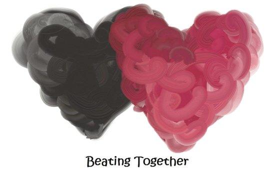 Beating Together Art Print