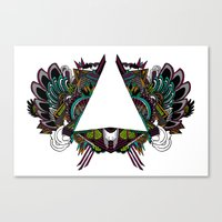 triagram Canvas Print