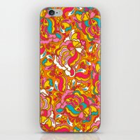 the jazz cloud iPhone & iPod Skin