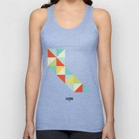 Geometric California Unisex Tank Top
