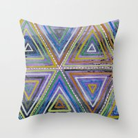 Triangling Throw Pillow