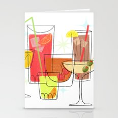 Swanky Summer Coolers Stationery Cards