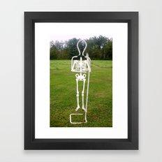 Bones E Framed Art Print