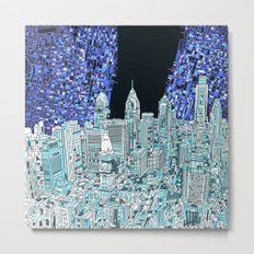 philadelphia city skyline Metal Print
