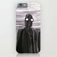 Robot Observer iPhone 6 Slim Case