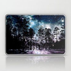 One Magical Night...(teal & lavender) Laptop & iPad Skin