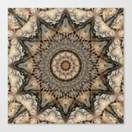 Canvas Print featuring Mandala Isolation by Christine Baessler