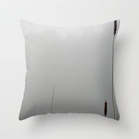 Sea of Fog Throw Pillow