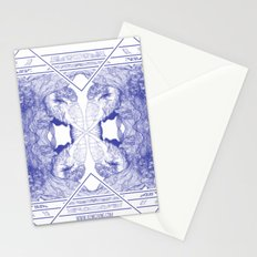 The Willow Pattern (Blue variation) Stationery Cards