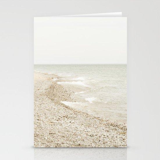 Coastal Shore Point Betsie No. 1 Stationery Card