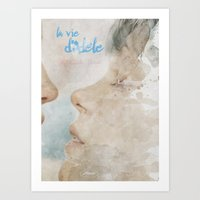 La vie d'Adele, movie poster - chapter two - alternative playbill Art Print