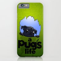 a Pug's life (dark) iPhone 6 Slim Case