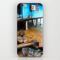 Blue House iPhone & iPod Skin