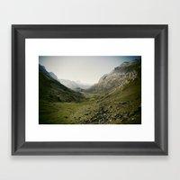 Just Silence Framed Art Print