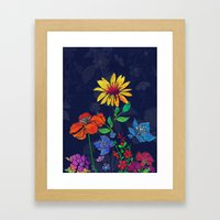 Flower Tales 6 Framed Art Print