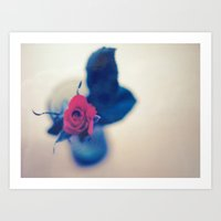 Rose In A Dream ~ Flower… Art Print