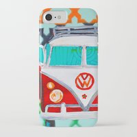 vw iPhone & iPod Cases featuring VW by Drica Lobo Art