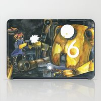 Moonbot #6: Yellow iPad Case