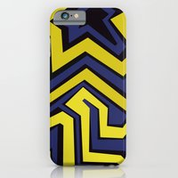 iPhone & iPod Case featuring Lines and Colors by Clara Ungaretti