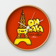 Oh lala! Wall Clock
