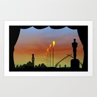 And The Oscar Goes To: W… Art Print