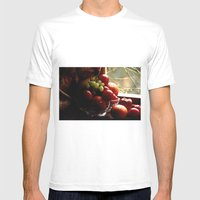 Fruit of the Moors  Mens Fitted Tee White SMALL
