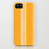 iPhone Cases featuring Gold Herring by gretzky