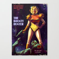 The Bounty Hunter Canvas Print