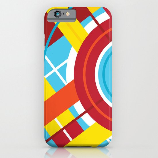 Plaid Circle iPhone & iPod Case
