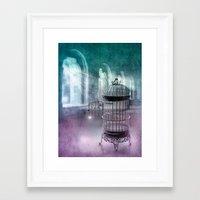 LIBERTA Framed Art Print