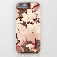 cherry blossom iPhone & iPod Cases featuring Cherry Blossom by Erin Johnson