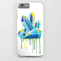 iPhone & iPod Case featuring Crystals by Liz Urso