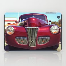 Burgundy beauty iPad Case